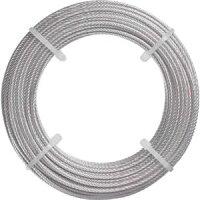 【トラスコ中山TRUSCO】ステンレスワイヤロープΦ2.0mmX20m1巻CWS-2S203100