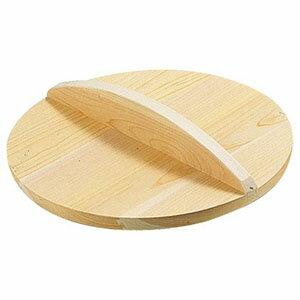 【雅うるし工芸】厚手サワラ木蓋 15cm用 AKB02015