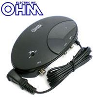 【オーム電機(OHM)】デジタルTVブースタAN-0557
