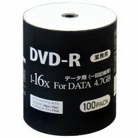 【MAG-LAB(業務用メディア)】DR47JNP100_BULK(DVD-R16倍速100枚)