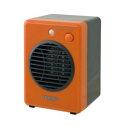 【テクノス TEKNOS】モバイルセラミックヒーター 300W オレンジ TS-320