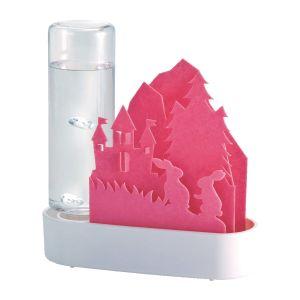 【積水樹脂 SEKISUI】ECO 加湿器 うるおいアニマル ちいさな森 ピンク・ウサギ