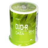 【ハイディスク HI DISC】ハイディスク VVDDR47JP100 データ用DVD-R 4.7GB 100枚 16倍速 磁気研究所