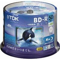 【TDK】GBRV-25PWB50PF (BD-R 4倍速50枚)