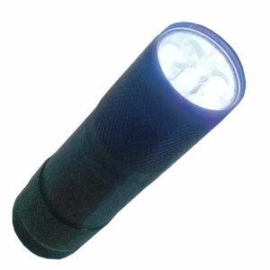 LED9球 ブラックハンディライト