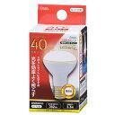 オーム LED電球 レフランプミニ形 E17 40形相当 3W 電球色 広角タイプ140° LDR3L-W-E17 A9 06-0767 OHM オーム電機