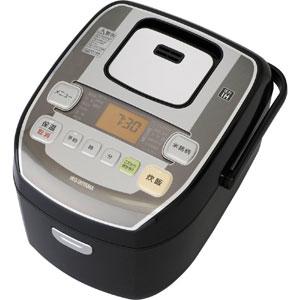 【アイリスオーヤマ IRIS】米屋の旨み 銘柄炊き 圧力IHジャー炊飯器 5.5合 RC-PA50-B ブラック