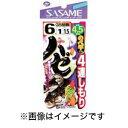 【ささめ針 SASAME】ささめ針 SASAME ハゼ4連シモリ 4.5m 7-1号 H-617