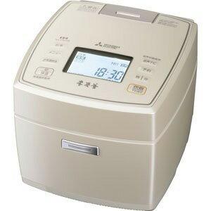 【三菱電機(MITSUBISHI)】IHジャー炊飯器 本炭釜 NJ-VW108-W(白和三盆) 5.5合炊き