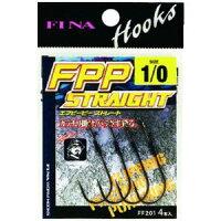 【ハヤブサHayabusa】フィナ(FINA)FPPSTRAIGHT2/0(鈎4個入り)FF201