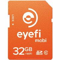 納期:【取寄品 出荷:約3-4日 土日祭日除く】【アイファイジャパン(Eye-Fi)】Eyefi Mobi 32GB...