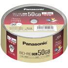 【パナソニックPanasonic】LM-BES50P30BD-REDLBDREDL2倍速30枚【日本製】