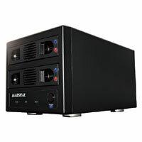 【マーシャル(MARSHAL)】3.5SATA&2.5SATA両対応HDD2台ケース USB3.0接続 RAID SATA3.0対応 MAL3...