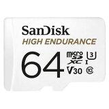 【サンディスク SanDisk 海外パッケージ】サンディスク マイクロSDXC 64GB SDSQQNR-064G-GN6IA U3 /V30 ドラレコにお勧め microsdカード