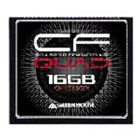 【メール便対象商品】【グリーンハウス(GreenHouse)】【CF 16GB】GH-CF16GFX【433倍速 65MB/s】