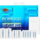 【サンヨー(SANYO)】エネループ(eneloop・電池・スペーサー付充電器セット) N-TGN01-6ASET