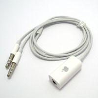 【パソコン用に変換】iPhone用ヘッドホン変換ケーブル 65cm