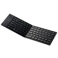 ワイヤレスキーボードTK-FLP01BK/エレコム