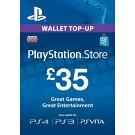 【送料無料】PlayStationNetworkCard£35PS4PS3PSVITAUKPSAccounts-プレイステーションネットワークカード35ポンドイギリスUKアカウント