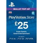 PlayStation Network Card 25Pound PS4 PS3 PSVITA UK PS Accounts - プレイステーション ネットワークカード 25ポンド イギリス UK アカウント