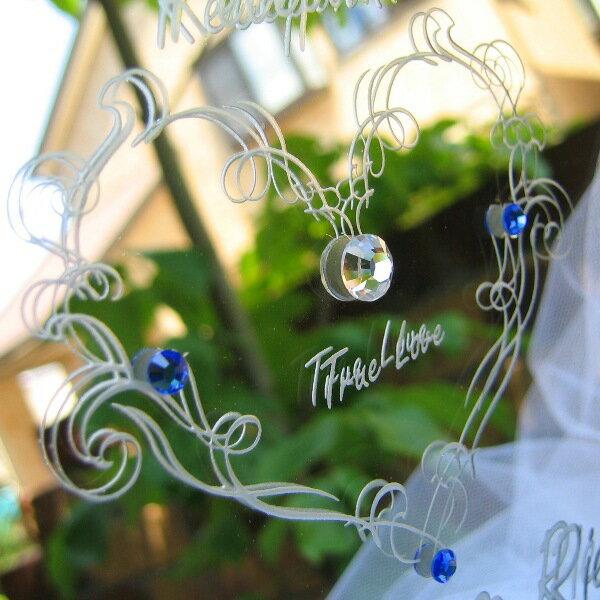 安芸グラス工芸『オリジナルウェルカムボードミニミラータイプ(WM2-01)』