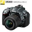 ニコン デジタル一眼レフカメラ D5300 18-55 VR IIレンズキット D5300-18-55VRII-LK-G グレー 【送料無料】【KK9N0D18P】
