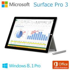 送料無料・代引き手数料無料マイクロソフト Windows タブレット 12インチ Surface Pro 3 128GB...