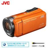 ビクター ビデオカメラ エブリオ 32GB JVC GZ-R300-D オレンジ 【送料無料】【KK9N0D18P】