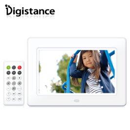 ゾックス7インチデジタルフォトフレームデジスタンスDS-DA720WHホワイト