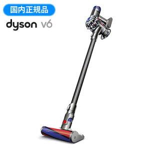 【※お一人様一台限り】【20%ポイントバック】ダイソン 掃除機 サイクロン式 Dyson V6 Fluffy+ コードレスクリーナー SV09MHCOM 【送料無料】