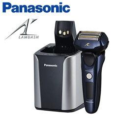 パナソニック メンズシェーバー ラムダッシュ 5枚刃 全自動洗浄充電器付 ES-LV7A-A …