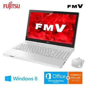 富士通 ノートパソコン FMV LIFEBOOK AH77/U 15.6型ワイド FMVA77…
