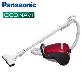 パナソニック掃除機紙パック式クリーナーハウスダストセンサー搭載MC-PA36G-Rクラシックレッド