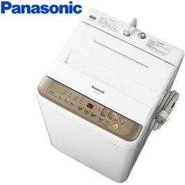 パナソニック全自動洗濯機洗濯・脱水容量6kgNA-F60PB10-Tブラウン