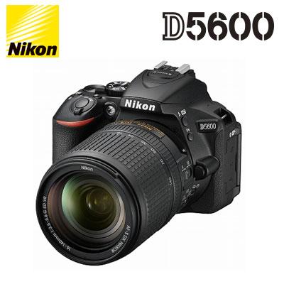デジタルカメラ, デジタル一眼レフカメラ  D5600 Nikon 18-140 VR D5600-18-140-VR-BK KK9N0D18P