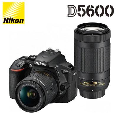 デジタルカメラ, デジタル一眼レフカメラ  D5600 Nikon D5600-WZ-BK KK9N0D18P