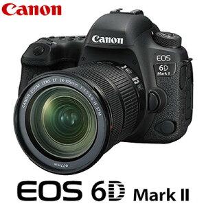 キヤノン デジタル一眼レフカメラ EOS 6D Mark II 24-105 IS STM レンズキット EOS6DMK2-24105ISSTM CANON【送料無料】【KK9N0D18P】