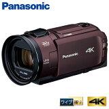 パナソニック デジタル 4K ビデオカメラ 64GB 4K PREMIUM ワイプ撮り HC-WX2M-T カカオブラウン【送料無料】【KK9N0D18P】