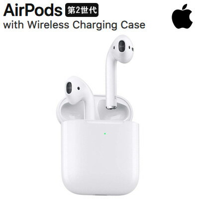 オーディオ, ヘッドホン・イヤホン 5Apple 2 MRXJ2JA AirPods with Wireless Charging Case MRXJ2JA KK9N0D18P