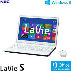 送料&代引き手数料無料NEC ノートパソコン LaVie S LS550/LS 15.6型ワイド PC-LS550LS6W クロ...
