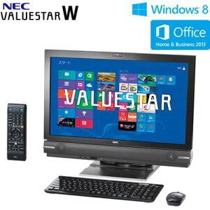 送料&代引き手数料無料NEC デスクトップパソコン VALUESTAR W VW770/LS6B 23型ワイド PC-VW770...