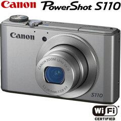 送料&代引き手数料無料キヤノン デジタルカメラ PowerShot S110 PSS110-SL シルバー 【送料無料】