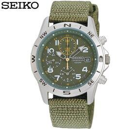 正規品セイコー腕時計メンズSND377RカーキSEIKO