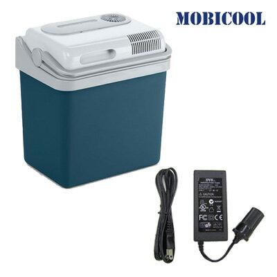 MOBICOOL ポータブルクーラーボックス 容量24L+AC/DCアダプターセット P24DC-MPA-5012 ...