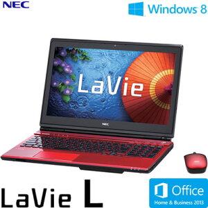 送料&代引き手数料無料NEC ノートパソコン LaVie L LL750/MS 15.6型ワイド PC-LL750MSR クリス...