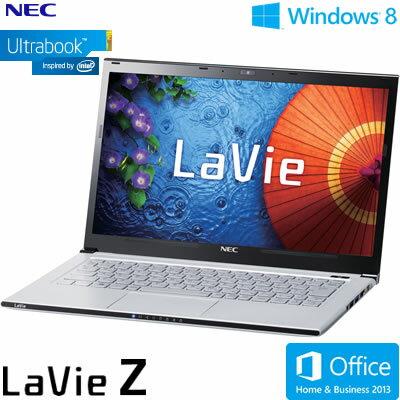 送料&代引き手数料無料NEC ウルトラブック ノートパソコン LaVie Z LZ750/MSS 13.3型ワイド PC...