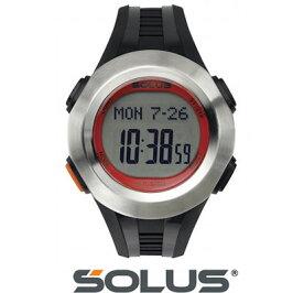 正規品ソーラス腕時計メンズ01-101-02シルバー×ブラックSOLUS