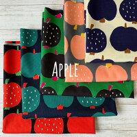 リンゴアップルプリント生地オックス