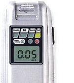 アルコールチェッカーSC-103の液晶拡大