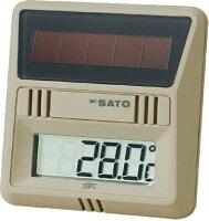 ソーラーデジタル温度計PC-7200SL